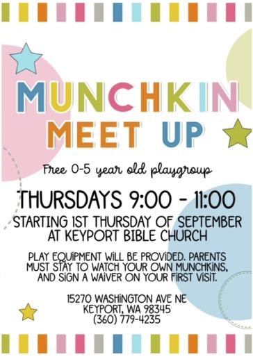 Munchkin Meetup Flyer