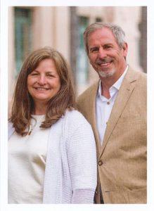 Christian & Sheryl Andresen standing side-by-side